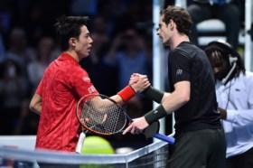 Andy Murray heeft meer dan drie uur nodig om Kei Nishikori te verslaan op Masters