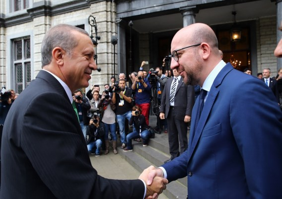 Premier Michel: 'Uitspraken Turkse president zijn absurd'