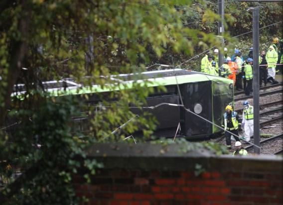 Ontspoorde Londense tram reed meer dan drie keer te snel