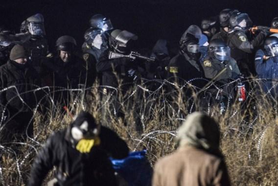 Gewonden bij protest om pijpleiding in North Dakota