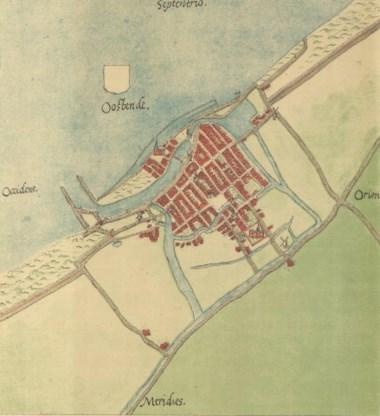 Restanten ontdekt van middeleeuws Oostende in zee