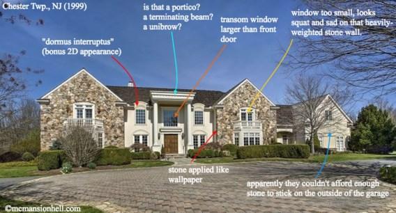 Blogster fileert lelijke Amerikaanse huizen