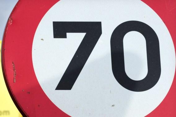 70 km/u buiten bebouwde kom nieuwe norm