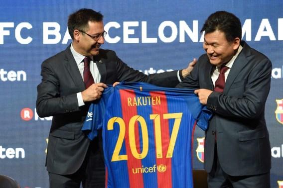 Japans bedrijf wordt nieuwe shirtsponsor FC Barcelona