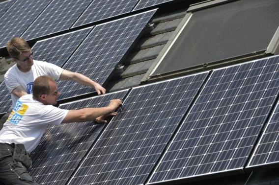 Vlaanderen wereldkampioen zonne-energie