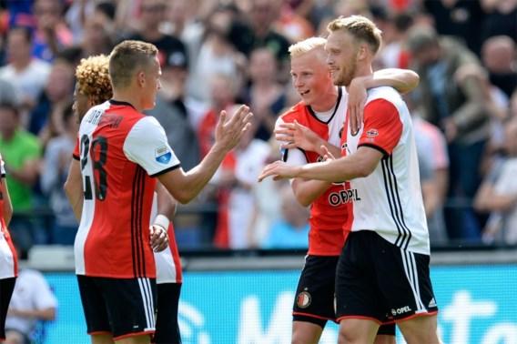 EREDIVISIE. Feyenoord voorkomt nederlaag in 99e (!) minuut