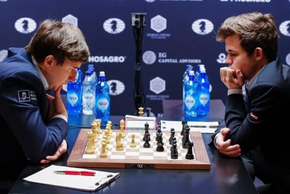 Ook elfde partij op WK schaken eindigt in remise