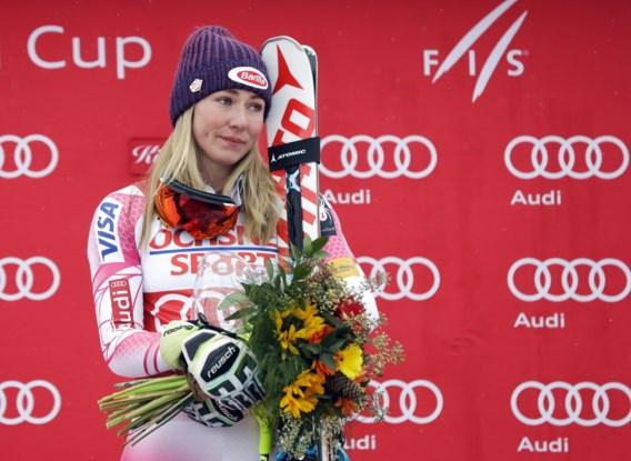 Amerikaanse Shiffrin wint slalom in Killington