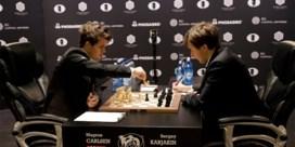 WK schaken wordt thriller met tiebreak