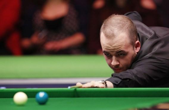 Luca Brecel in zestiende finales UK Championship tegen Yu Delu