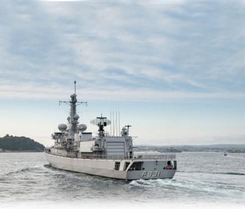 Fregat Louise-Marie redde 172 migranten voor de Libische kust