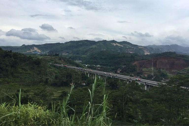 Stedentrippen in Indonesië