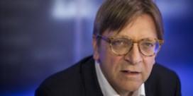 Verhofstadt werpt zich op als kingmaker
