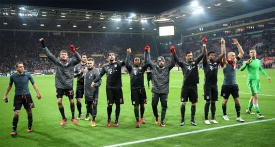 BUNDESLIGA. Robben en Lewandowski bezorgen Bayern (voorlopig) weer leidersplaats