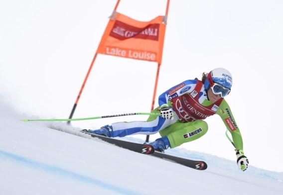 Sloveense Ilka Stuhec wint ook tweede afdaling Lake Louise