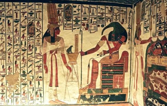 Gemummificeerde knieën gelinkt aan koningin Nefertari