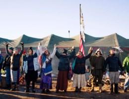 Amerikaanse leger redt indianengrond