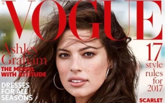 'Bekende ontwerpers weigerden model op deze cover te kleden'