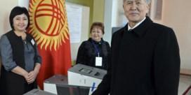 Kirgizië, waar de bevolking stemt zoals wordt gevraagd