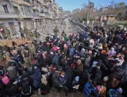 'Het is <I>doomsday</I> in Aleppo'