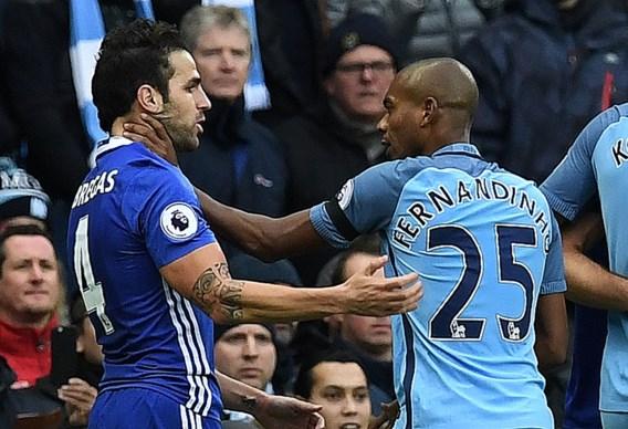 Zware boetes voor Chelsea en Manchester City na tumultueuze slotfase in topper