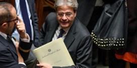 Italiaanse kamer steunt nieuwe regering