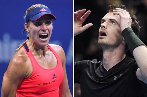Murray en Kerber stoten Djokovic en Serena officieel van troon in 2016