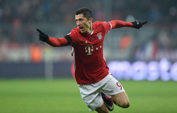 Lewandowski verlengt zijn contract bij Bayern München