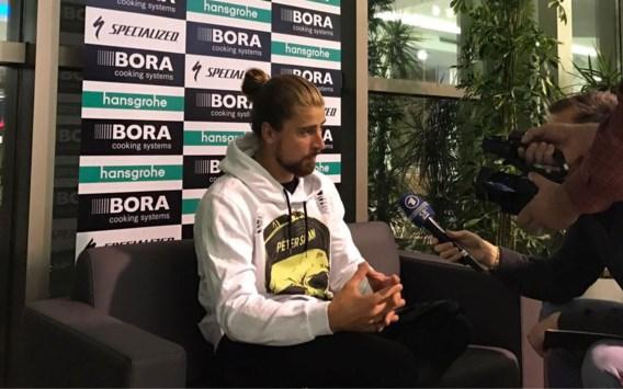 """Sagan: """"Heb niet het gevoel dat ik opeens in een klein team koers"""""""