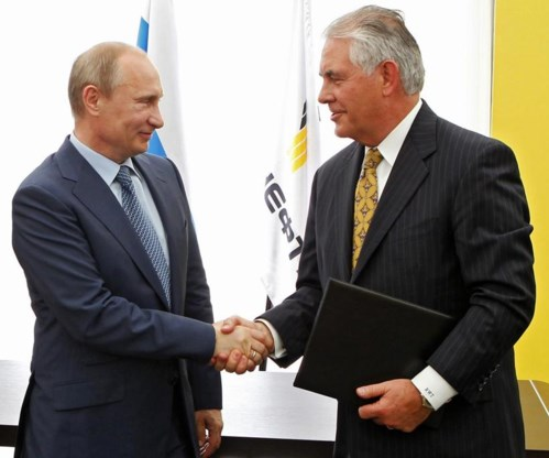 Trump bevestigt: 'vriend van Poetin' op Buitenlandse Zaken