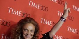 Modeontwerpster Diane von Furstenberg bij nieuwe eredoctors UAntwerpen