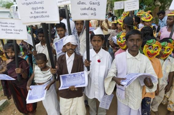 90 procent van Indisch garen gemaakt door kindslaven