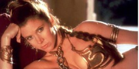 De prinses in de gouden bikini