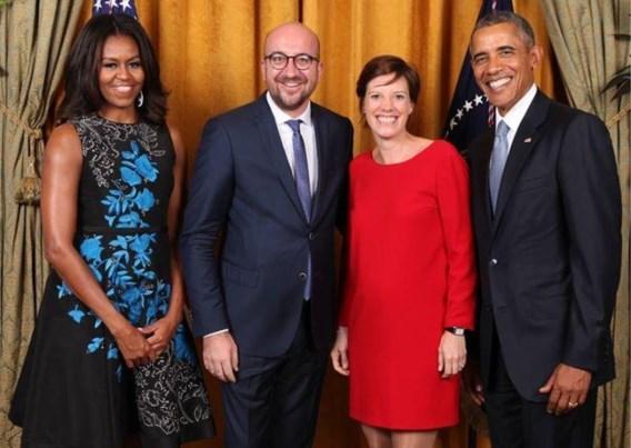 Obama zij aan zij met Brave Little Belgium