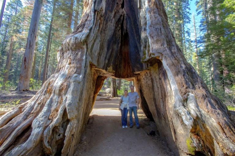 volledige aansluiting nabij Sequoia National Park