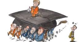 N-VA'ers passen voor Angela Merkel