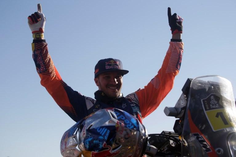 Sam Sunderland (KTM) steekt eindzege bij motorrijders op zak, Vanderweyen is 76e