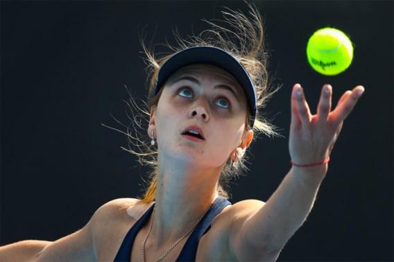 Ontgoochelde Zanevska grijpt naast plaats op hoofdtabel Australian Open