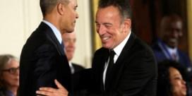 Bruce Springsteen geeft intiem afscheidsconcert voor Obama