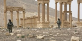 Weer ravage door IS in Palmyra