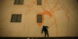 Zeven verdiepingen graffiti in één nacht