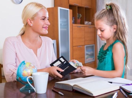 Meisjes krijgen minder zakgeld dan jongens