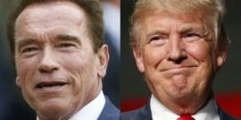Schwarzenegger wil job ruilen met Trump