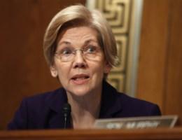 Senator Elizabeth Warren krijgt rode kaart van Republikeinen