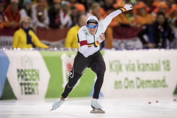 Bart Swings stelt teleur op WK schaatsen