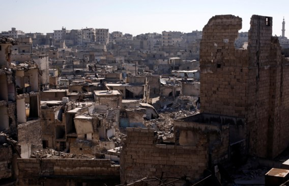 Drie doden na aanval op hulppost Aleppo