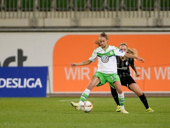 Kersverse Gouden Schoen Tessa Wullaert verlengt contract bij Wolfsburg
