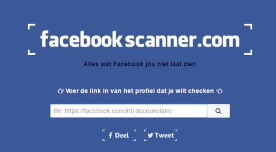 Deze website legt elk Facebookprofiel bloot