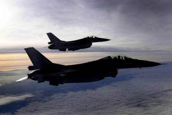 Nederlandse gevechtsvliegtuigen boven België en Frankrijk