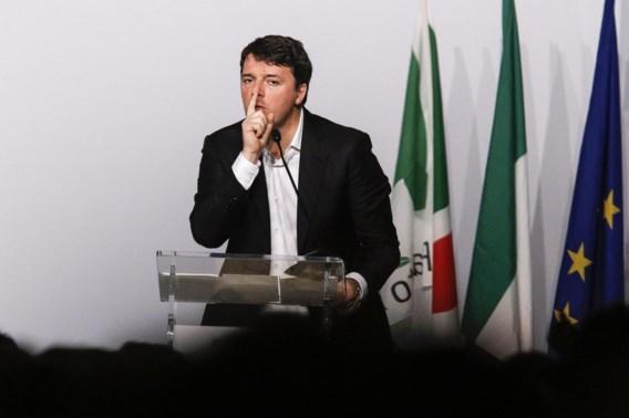 Renzi neemt ontslag als leider democratische partij